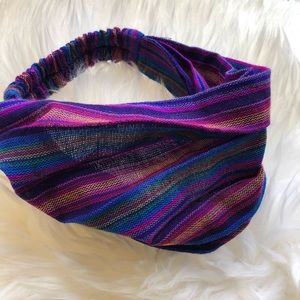 Guatemalan Knit Vibrant Head Wrap Headband